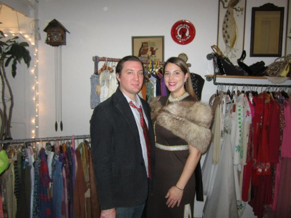 Blue Hawaii Vintage Holiday Party