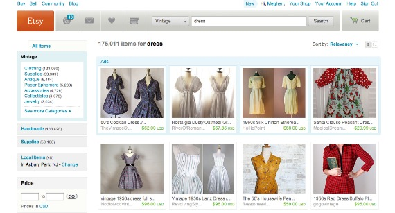 Best Websites to Score Amazing Vintage Clothing Finds | Blue ...
